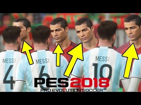 MENANG!!!!!TIM RONALDO VS TIM MESSI!!!!(PES 2018 KOCAK INDONESIA)