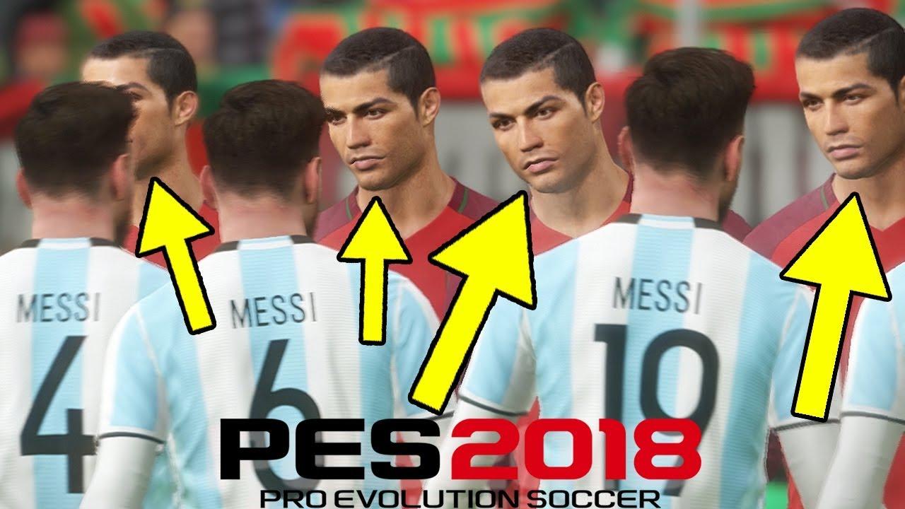 Menang Tim Ronaldo Vs Tim Messi Pes 2018 Kocak Indonesia Youtube