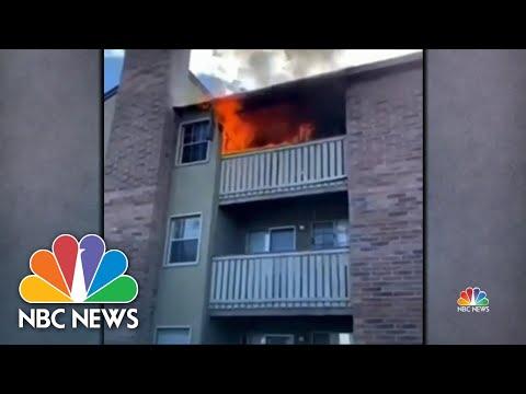 Two Strangers Become Heroes After Saving Siblings From Apartment Fire | NBC Nightly News