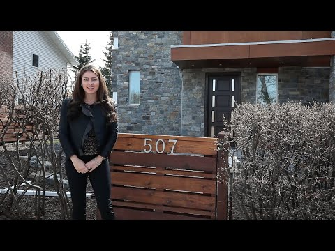 Calgary Real Estate Property Video Tour Production - 507 Riverdale Ave SW