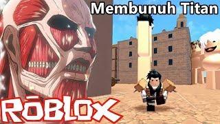 Berburu Titan di Dunia Roblox 😡😱 | Roblox Indonesia