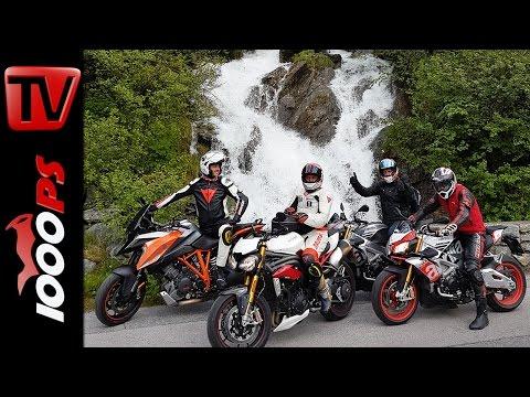Motorrad günstig mieten | High-Bike Testcenter Paznaun - 1000PS Betriebsausflug
