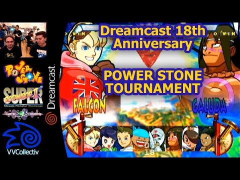 Dreamcast 18th Anniversary - Power Stone Tournament - Sept. 9th 2017