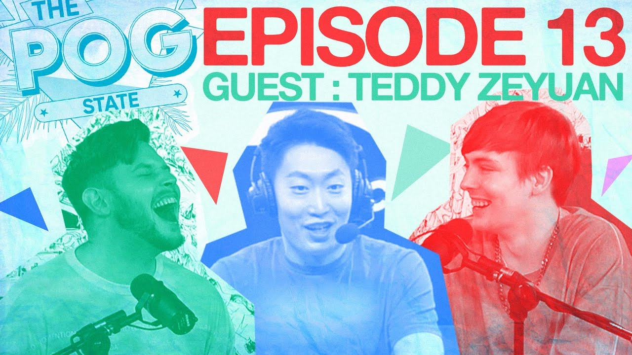 THE POG STATE   Ep. 13 Double Dragon: LPL+LCK Caster Teddy Zeyuan Says It Like It Is
