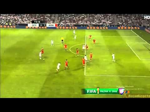 Friendly Match // Benedikt Howedes Goal - Germany 3-1 Armenia (6/6/2014) HD