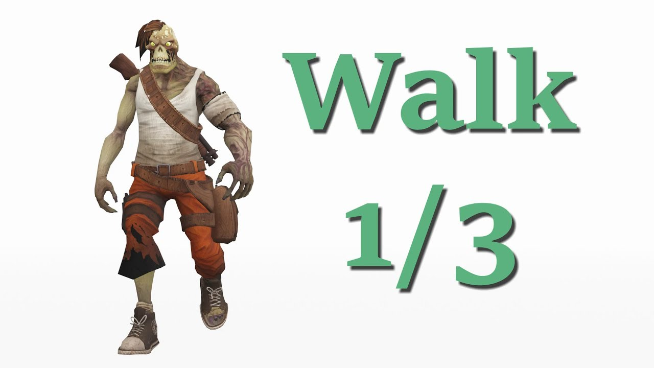 Walk and Run Cycles from Blender to Unreal Engine - Unreal