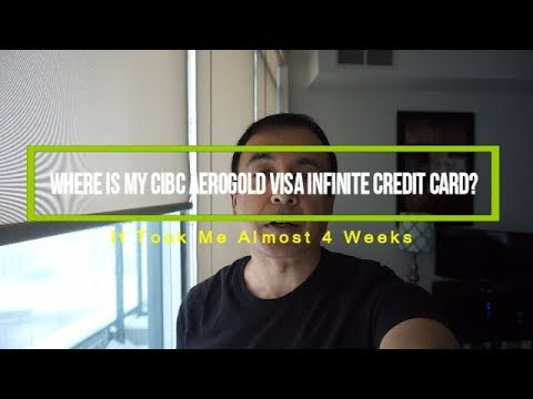 Where Is My CIBC Aerogold Visa Infinite Credit Card?