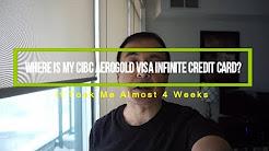 Where Is My CIBC Aerogold Visa Infinite Credit Card?