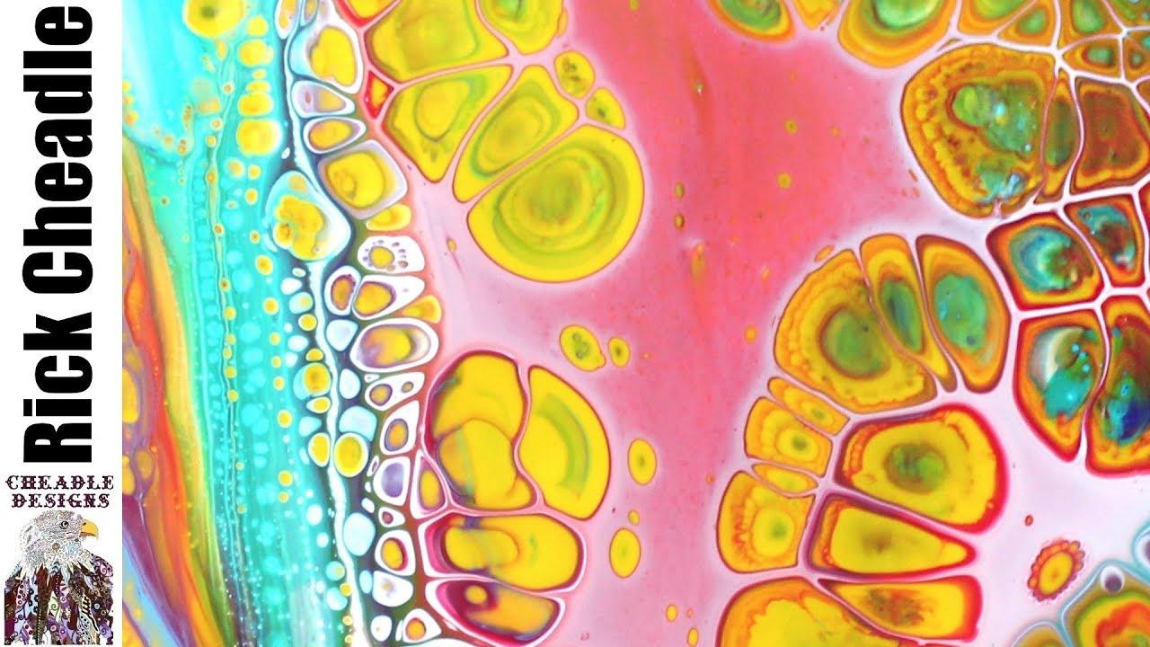 Abstract Acrylic Tutorial