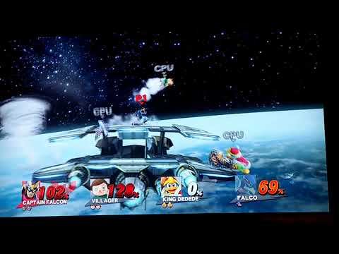 Super Smash Bros. Wii U Free for all Match #2