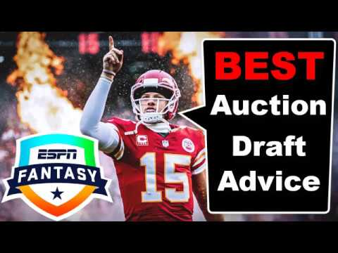 How To Dominate Your Auction Draft | 2019 Fantasy Football