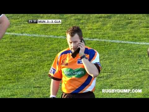 Nigel Owens call for the TMO, on a mobile phone