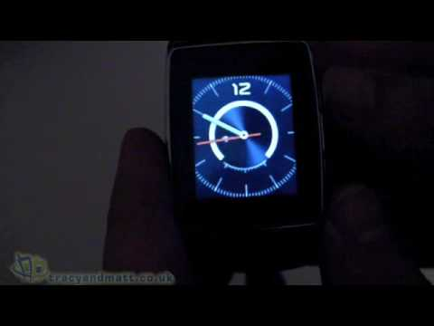 LG GD910 Watchphone unboxing video