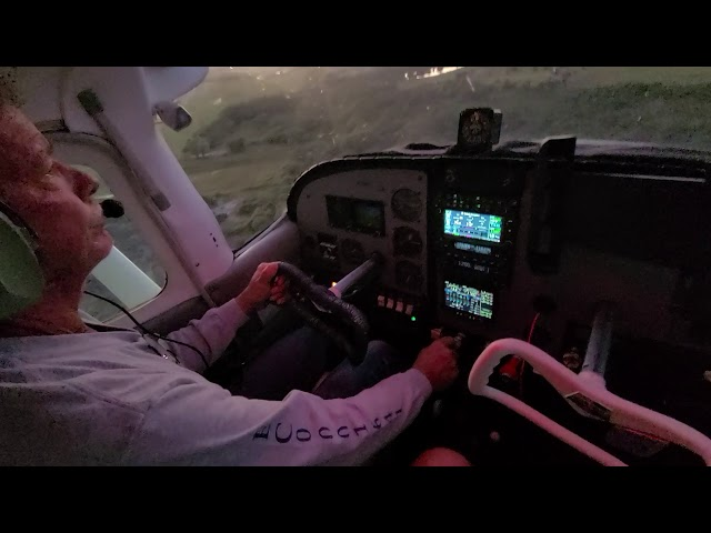Cessna 210 - Landing #3 Full Stop - N3740Y