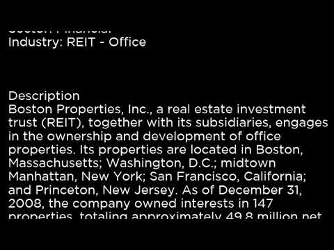 BXP Boston Properties, Inc  BXP buy or sell Buffett read basic