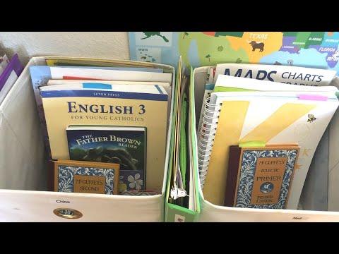 How I Homeschool: 4th and 1st Grade Curriculum (Catholic Homeschool)