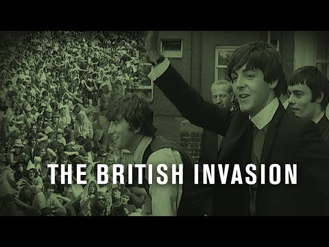 The British Invasion I British Pathé
