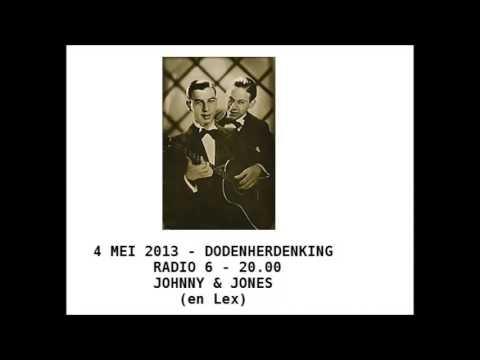 4 mei 2013 - Dodenherdenking Radio 6 - Johnny & Jones