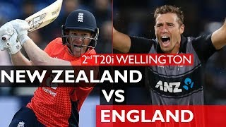 New Zealand Vs England - 2nd IT20 2019 Wellington - Cricket 19 Highlights [4K]