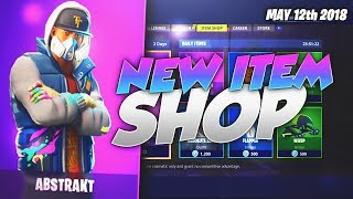 NEW ABSTRAKT SKIN! Fortnite ITEM SHOP Today May 12 2018! NEW Daily Items/ Featured Items!