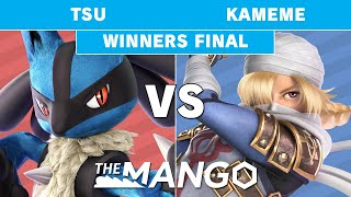 The Mango Kickoff - Tsu (Lucario) vs kameme (Sheik) Winners Final - Smash Ultimate