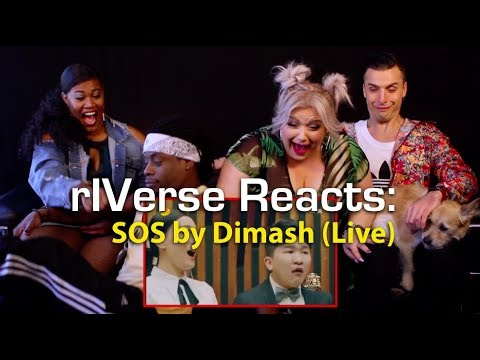 rIVerse Reacts: SOS by Dimash -  Performance Reaction