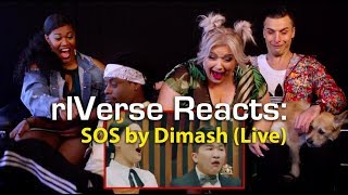 rIVerse Reacts: SOS by Dimash - Live Performance Reaction
