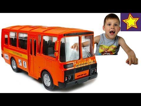 Мультфильм про автобус паз