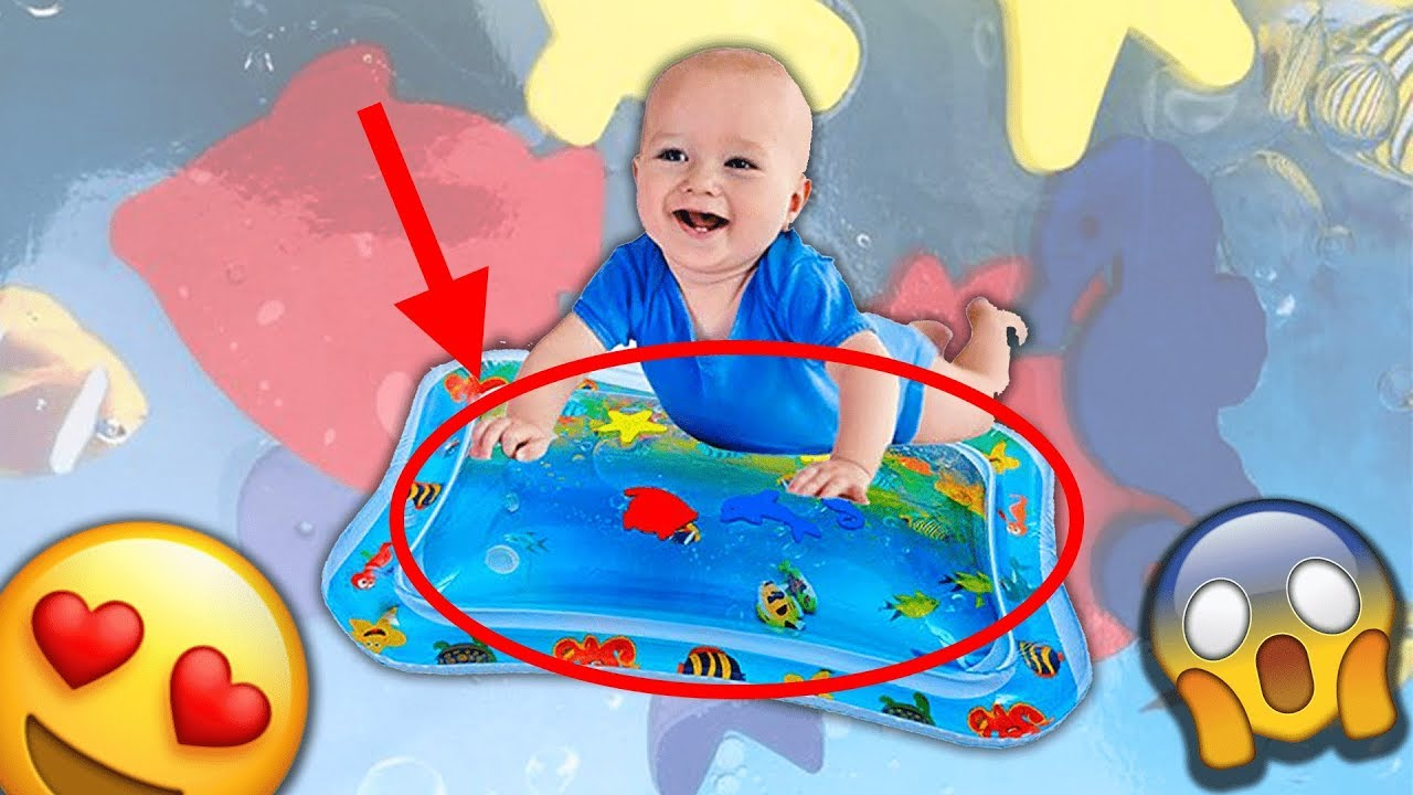 For Children And Kleeger Inflatable Baby Water Mat Fun Activity Play Center