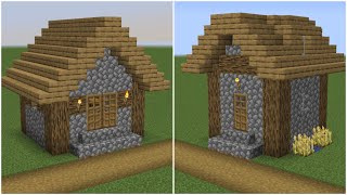 minecraft village plains build