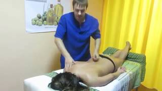 Лечебный массаж при остеохондрозе грудного отдела позвоночника