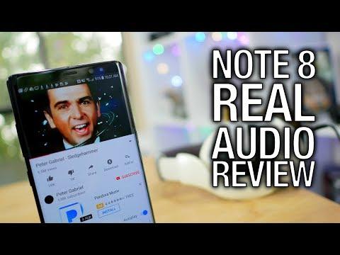 Samsung Galaxy Note 8 Real Audio Review: Bigger Phone, Bigger Sound? | Pocketnow