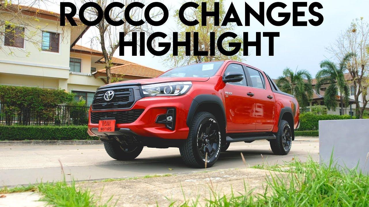 Revo Minor Change 2018 >> 2018 Toyota Hilux Revo Rocco Minor Changes Highlights Youtube