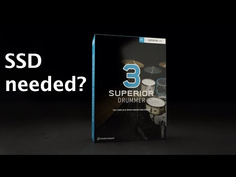 Do You REALLY Need An SSD For Superior Drummer 3 (or Any VST)?