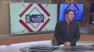 Nationals World Series ticket tracker