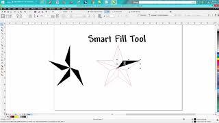 Corel Draw Tips & Tricks Smart Fill Tool more info Part 3