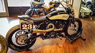 INDIAN SCOUT RACERS!! - RSD SuperHooligan Bikes! | BikeReviews