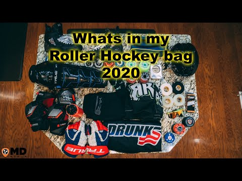 Whats In My Roller Hockey Bag | 2020