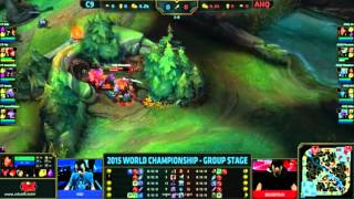 c9 vs ahq cloud9 vs ahq esport club lol world championship 2015 week 1 day 1
