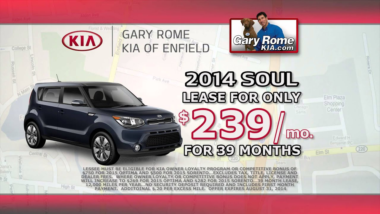 Gary Rome Kia >> Sign And Drive At Gary Rome Kia Of Enfield Ct