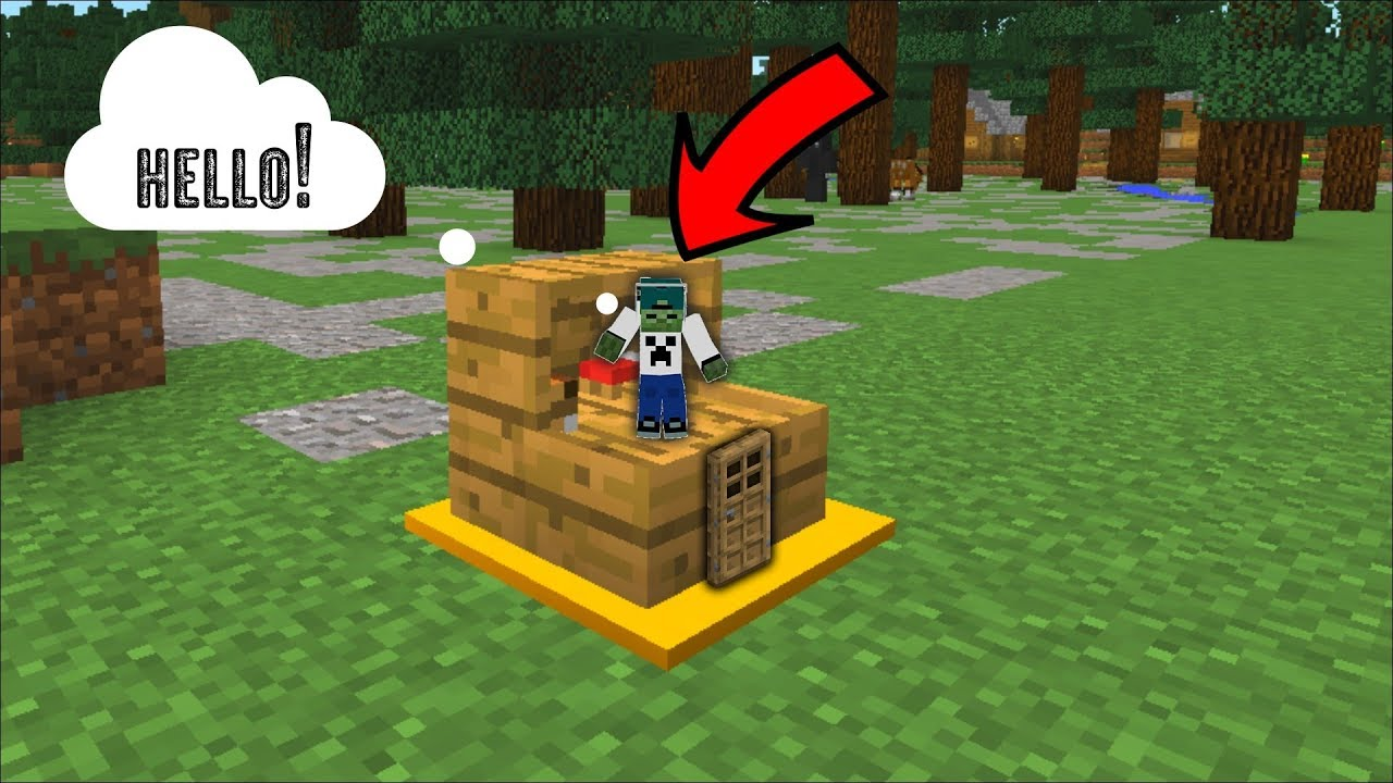 Build A Tiny House In A Stair Block In Minecraft Minecraft Small Mod Youtube