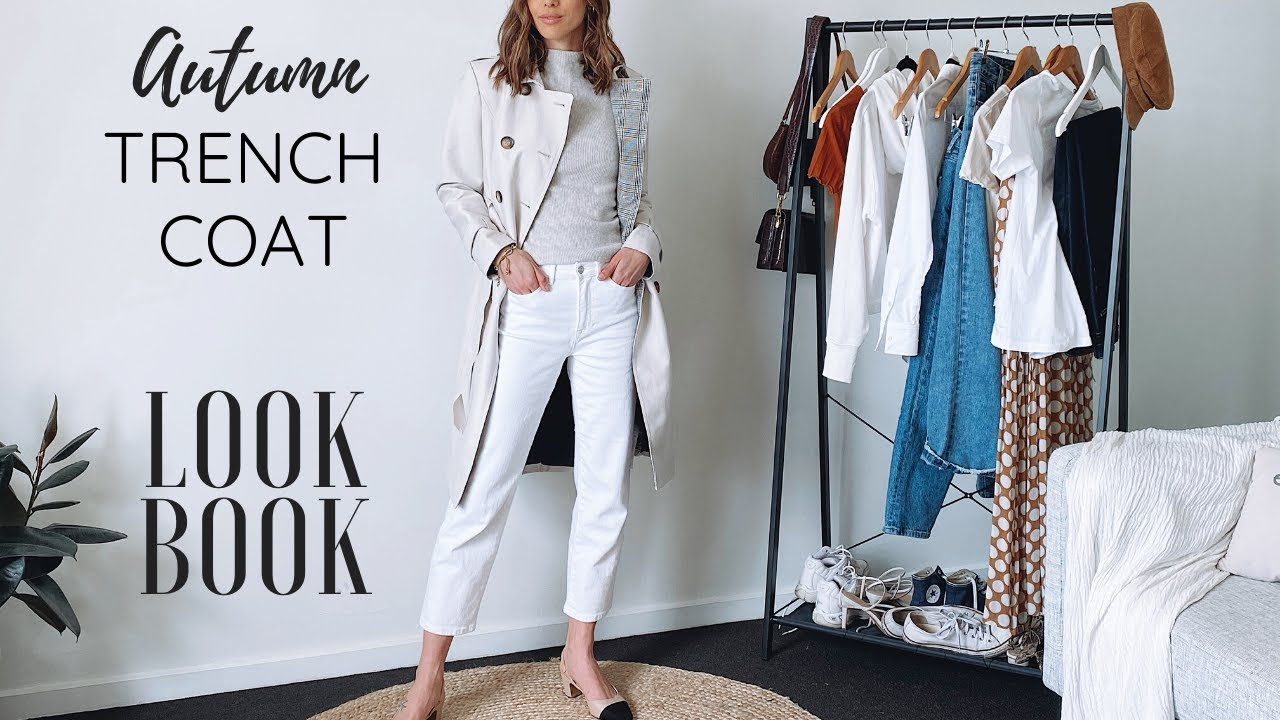 [VIDEO] - 11 Trench Coat Outfit Ideas for Autumn:Spring   LOOKBOOK 9
