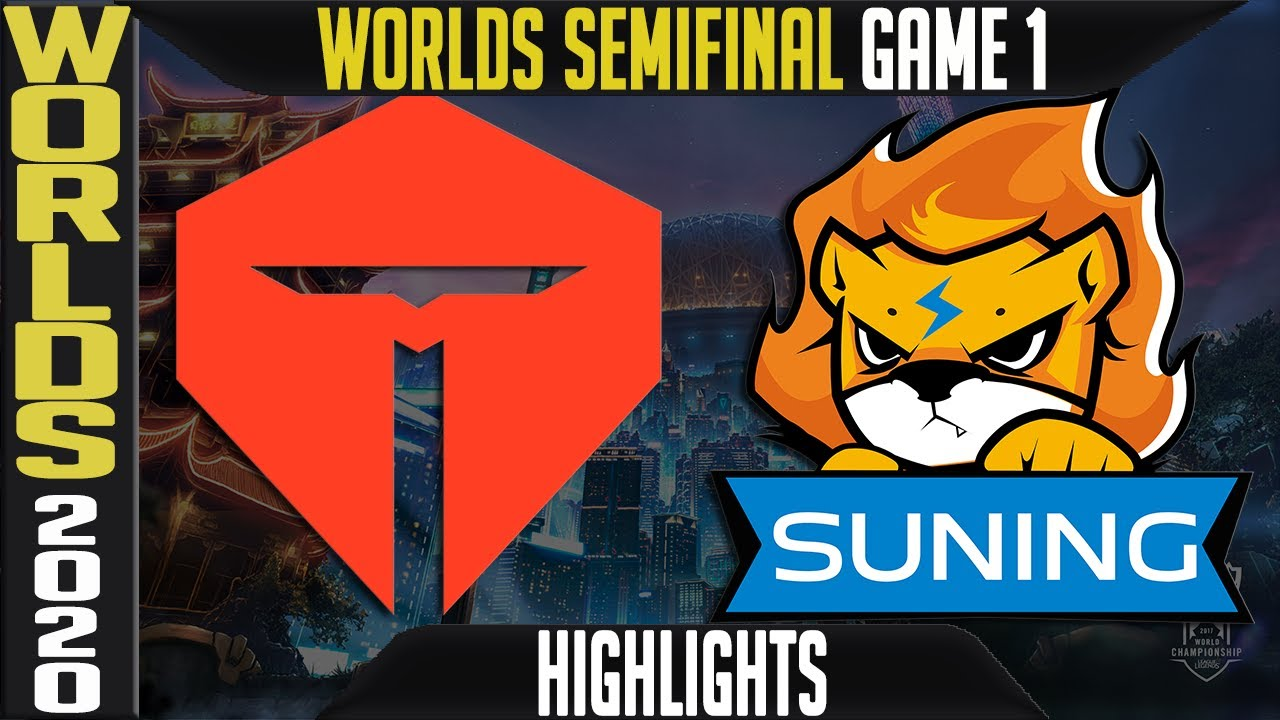 TES vs SN Highlights Game 1 | Semifinals Worlds 2020 Playoffs | TOP Esports vs Suning G1