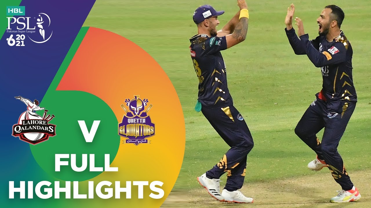 Download Full Highlights | Lahore Qalandars vs Quetta Gladiators | Match 23 | HBL PSL 6 | MG2T