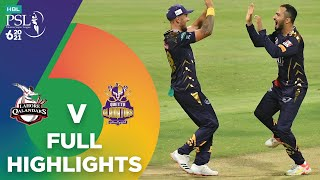 Full Highlights | Lahore Qalandars vs Quetta Gladiators | Match 23 | HBL PSL 6 | MG2T