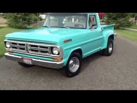 1970 Ford F100 >> 1970 Ford F100 SOLD Sun Valley Auto Club!! - YouTube