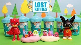 LOST KITTIES Itty Bitty 😽 Gattini nel Biberon con il pongo Play-Doh [Apertura Giochi]
