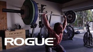 "Josh Bridges — ""Walk toward the fire"" — Rogue Fitness"