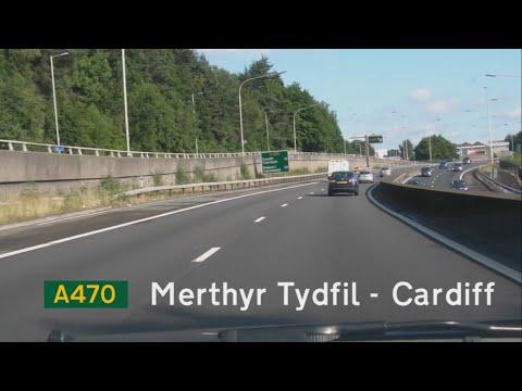 [GB] A470 Merthyr Tydfil - Cardiff (M4 J32)