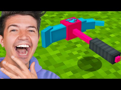 How to Craft the $1,000,000 MrBeast Gaming Pickaxe! – Minecraft